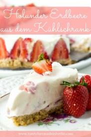 Rezept No Bake Cake Erdbeere Holunder