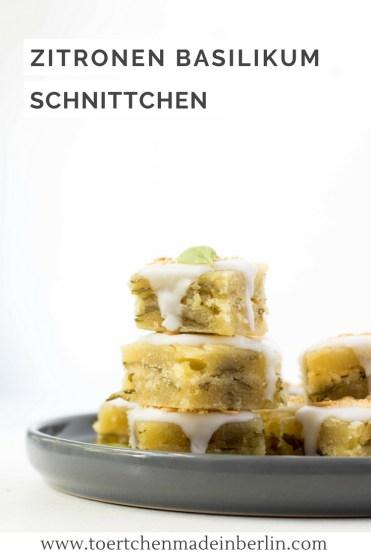 Rezept Zitronen Basilikum Schnittchen