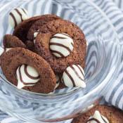 Nutella Cookies mit Hershey Kisses