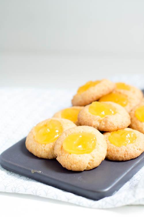 Rezept Engelsaugen mit Lemon Curd
