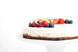 Rezept No Bake Cake Pfirsich Nektarine