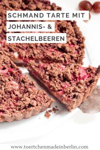 Rezept Schoko-Schmand-Stachelbeer-Johannisbeer-Tarte