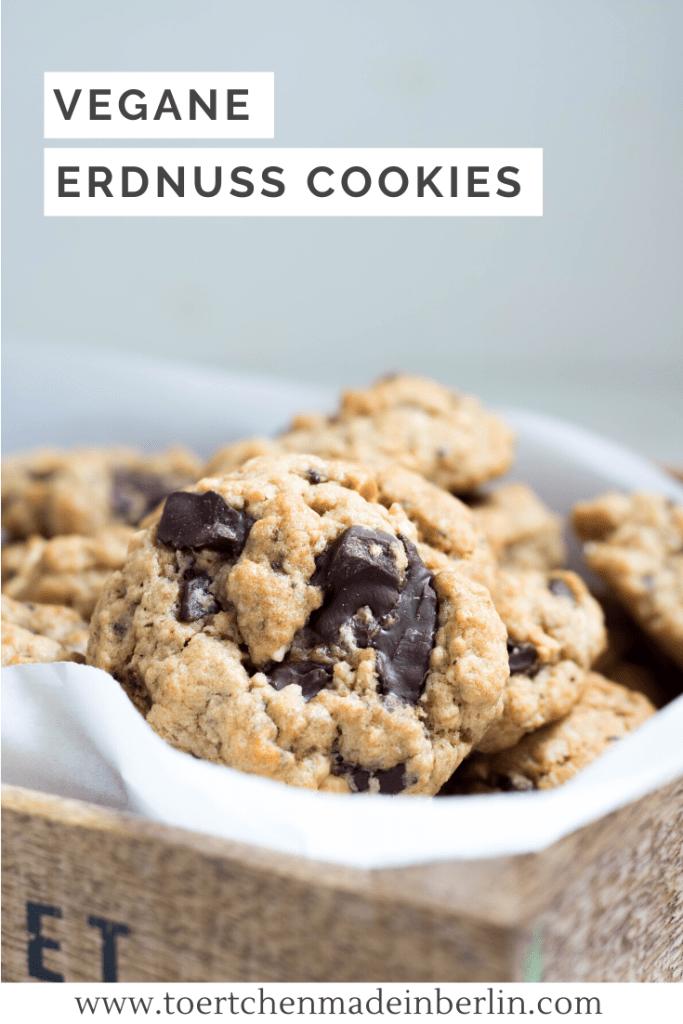 Rezept Vegane Erdnuss Cookies