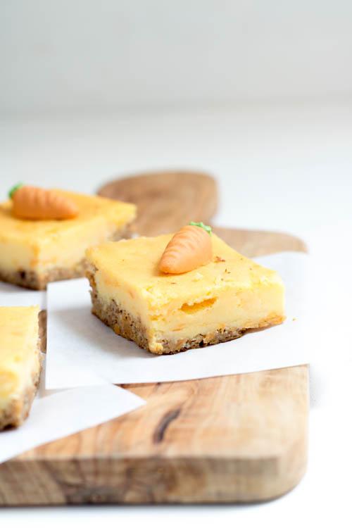 Rezept Glutenfreier Carrot Cheesecake Karotten Käsekuchen