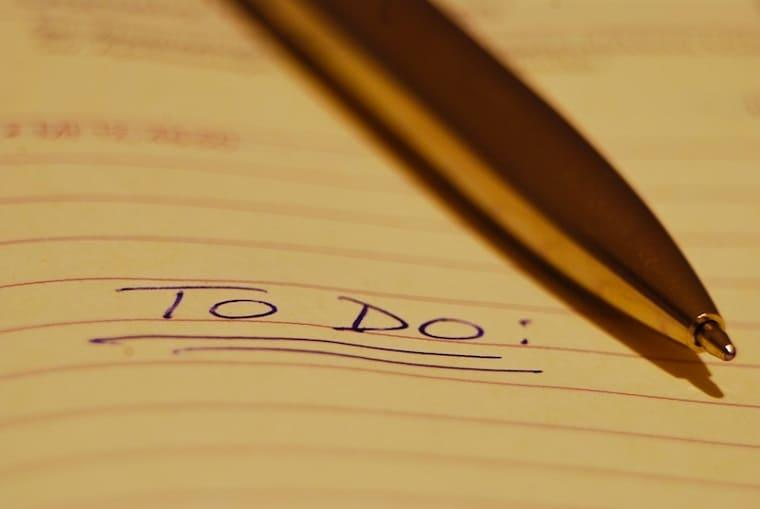 to do list - wait upon God