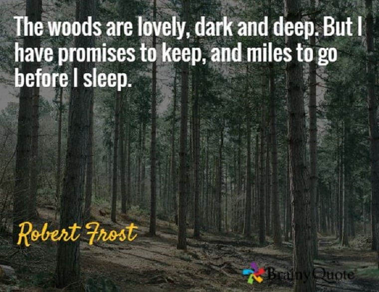 Promises Robert Frost - God's Promises