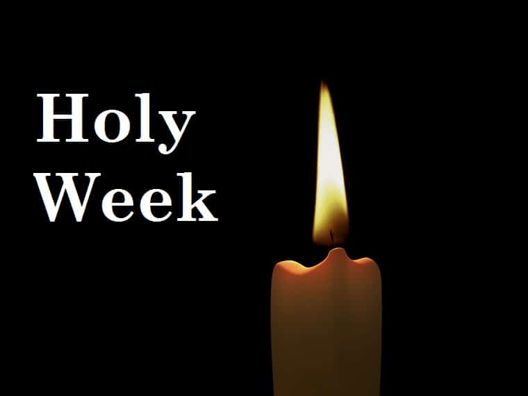 Holy Week - candle