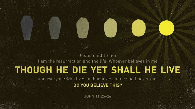 John 11:25-26 Resurrection and the Life
