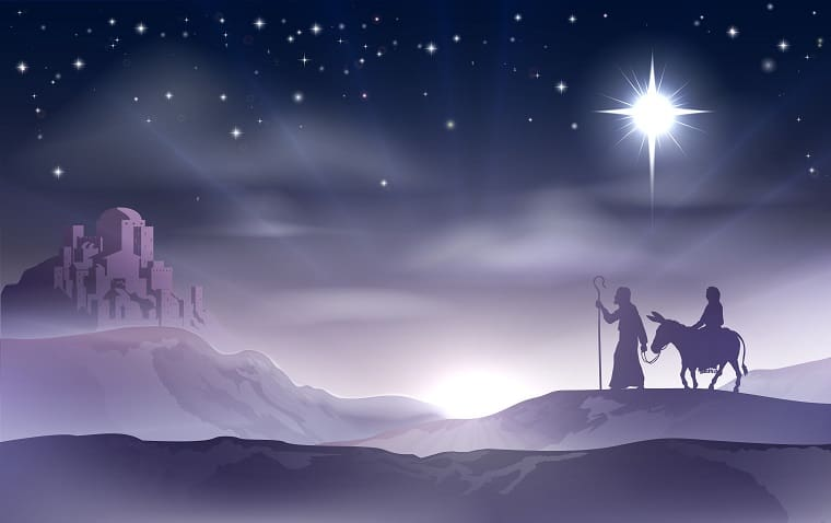 Mary's Christmas Story - trip to Bethlehem