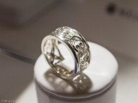 Damask Ring by Eman kelany from Mejuri Jewellery Launch Event