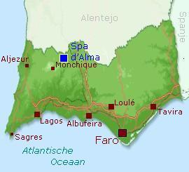 Spa-dAlma-kaart