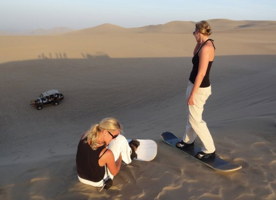 Sand-boarding-Huacachina-Oasis