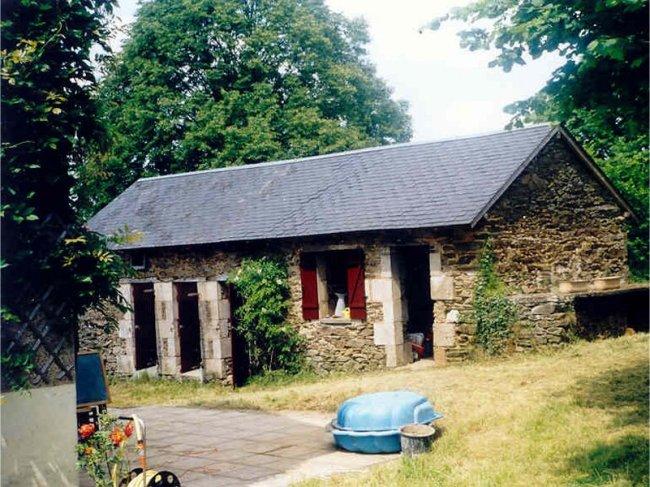 Huis te koop Frankrijk Limousin groot terras overdekt terras