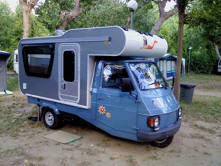 3-Wheel-Campervan