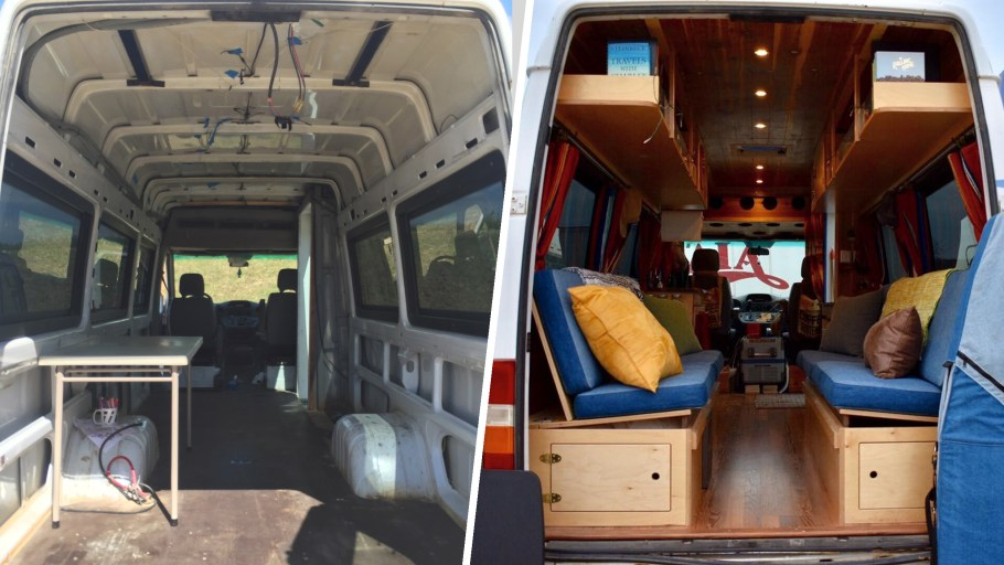 Before and After: Van Makeover