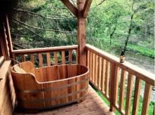 bad met uitzicht