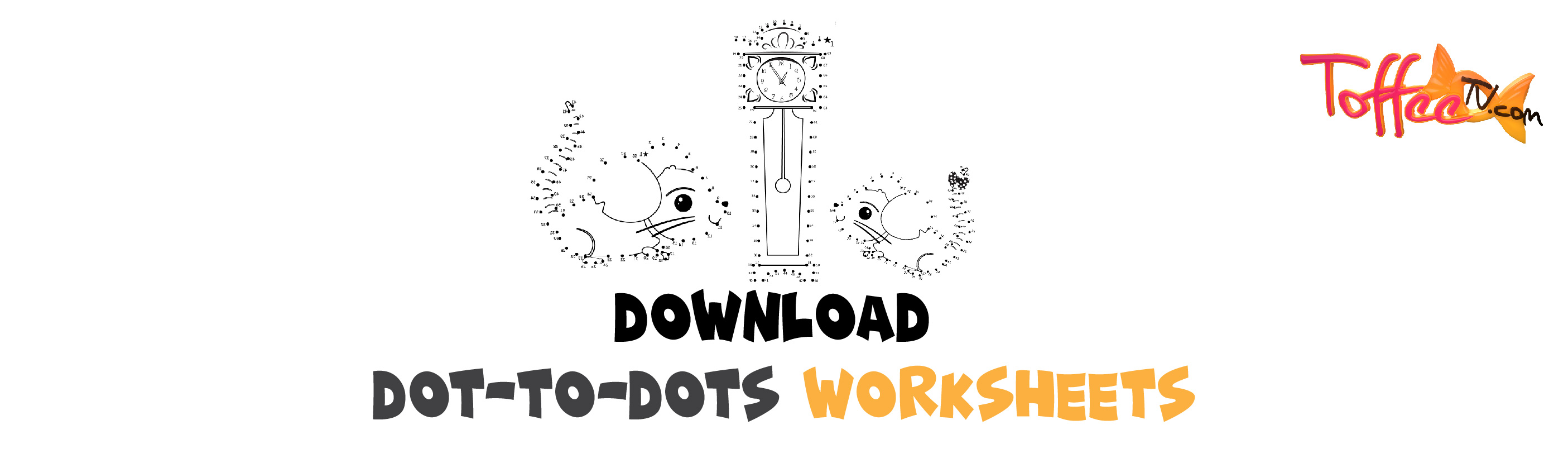Combined Dot To Dot Worksheet Of Hickory Dickory Dock