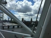 Upp över Themsen.
