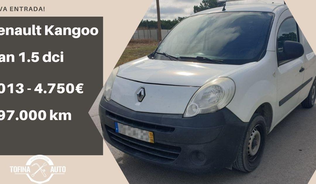 Renault Kangoo Van 1.5 dci de 2013