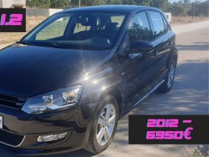 VW Polo Match 1.2 Gasolina de 2012