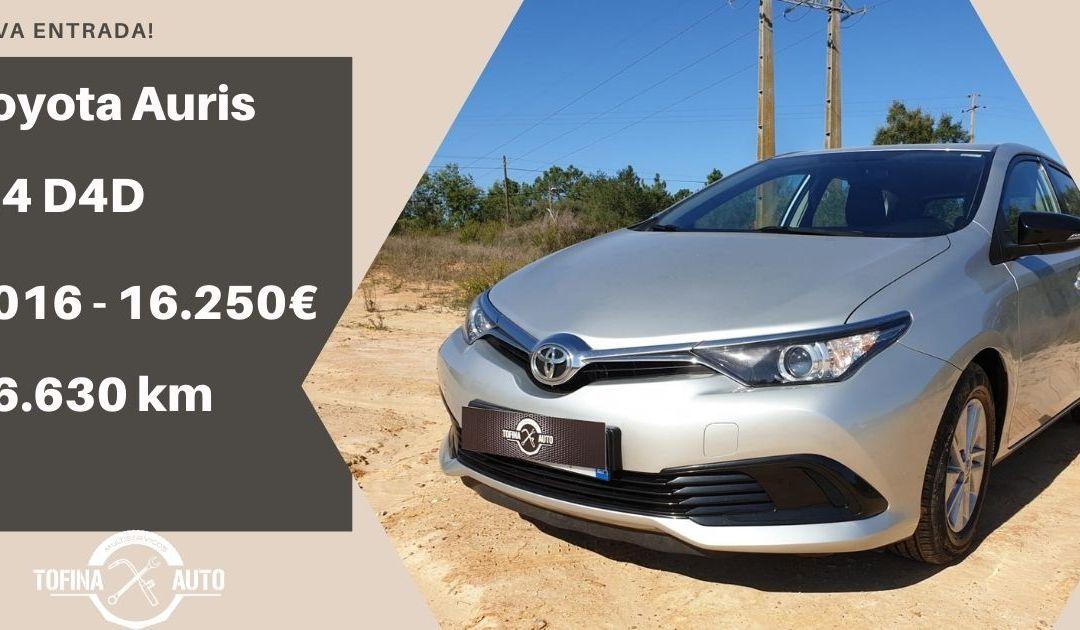 Toyota Auris 1.4 D4D 90cv – 2016