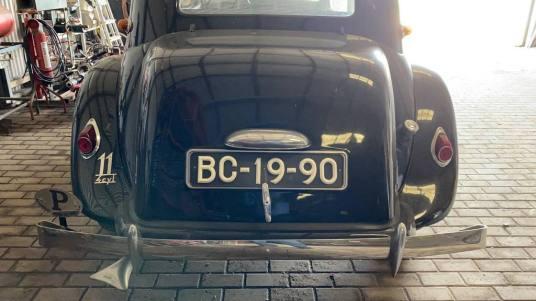Citroen Matrícula BC-19-90 de 1953
