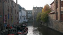 Bruges Canal in Winter