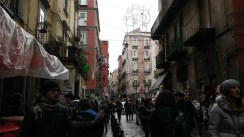 Crowded, crazy Napoli