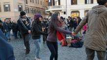 There's no end to activity and entertainment in Rome.