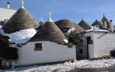 """Interestingly, no one knows the exact history of the trulli (the little white, """"dwarf"""" huts). No historian is exactly clear on who started this supremely unique UNESCO World Heritage Site."""