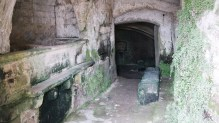 Inside a sassi dwelling, you can imagine how unsanitary and miserable it must have been. They would have several people and livestock like cows, horses and chickens, all living a cave at once.