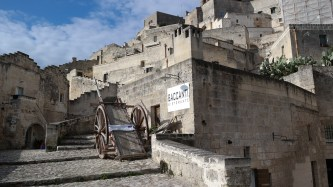 It's amazing to think that while the rest of the world was inventing cars, dishwashers and freezers in the 1950s, Matera was still using a horse and wagon.