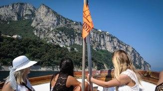 Boat tour, Capri