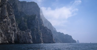 The soaring cliffs of Capri: one of the most memorable natural sights I've ever seen.