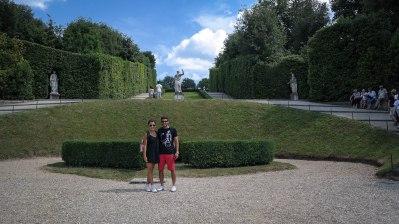 In the Botanical Gardens di Boboli