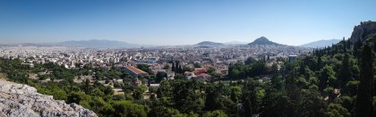 View of Athens during the day