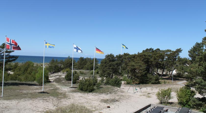 Tofta Strandpensionat nära havet