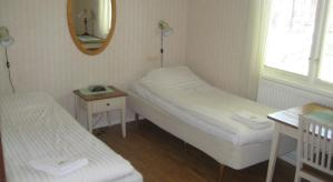 Bekväma sängar hos Tofta Strandpensionat