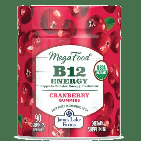 B12 Energy Gummies - Cranb.