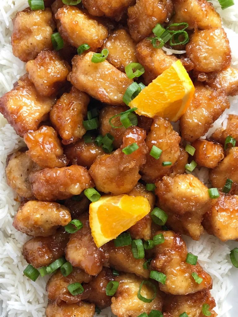 how to make homemade orange chicken