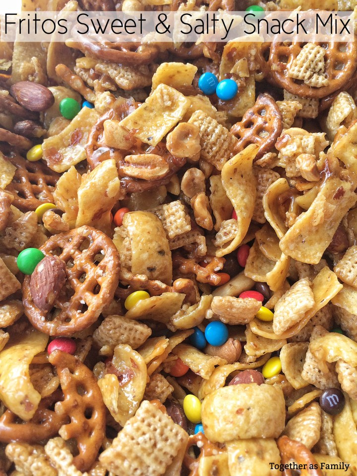"""FRITOS SWEET N"""" SALTY SNACK MIX 