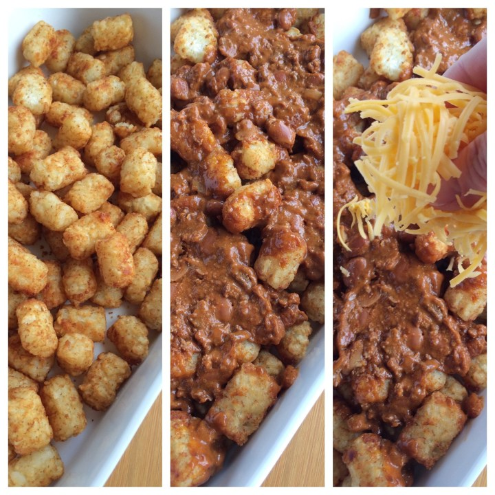 CHEESY CHILI TOTCHOS | www.togetherasfamily.com