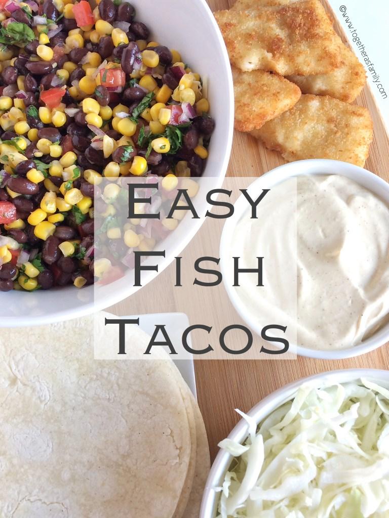 EASY FISH TACOS | www.togetherasfamily.com