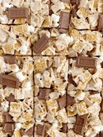S'mores Krispie treats recipe
