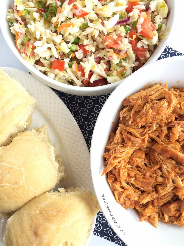 SLOW COOKER SOUTHERN SHREDDED CHICKEN | Together as Family