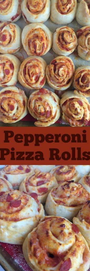 Pepperoni Pizza Rolls | Together as Family
