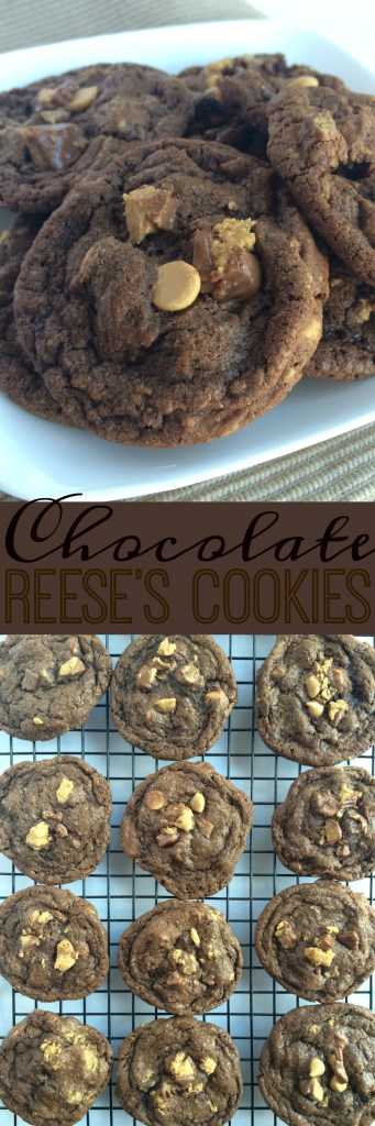Chocolate Reese's Cookies | Together as Family