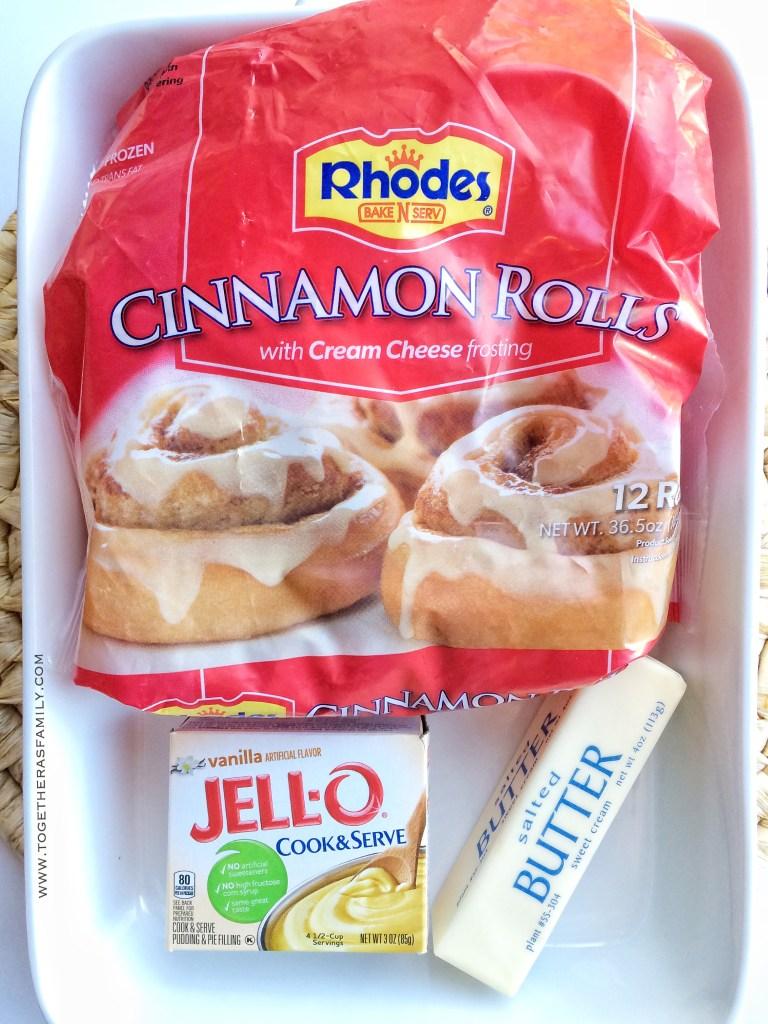 Easy, 3 Ingredient Cinnamon Rolls