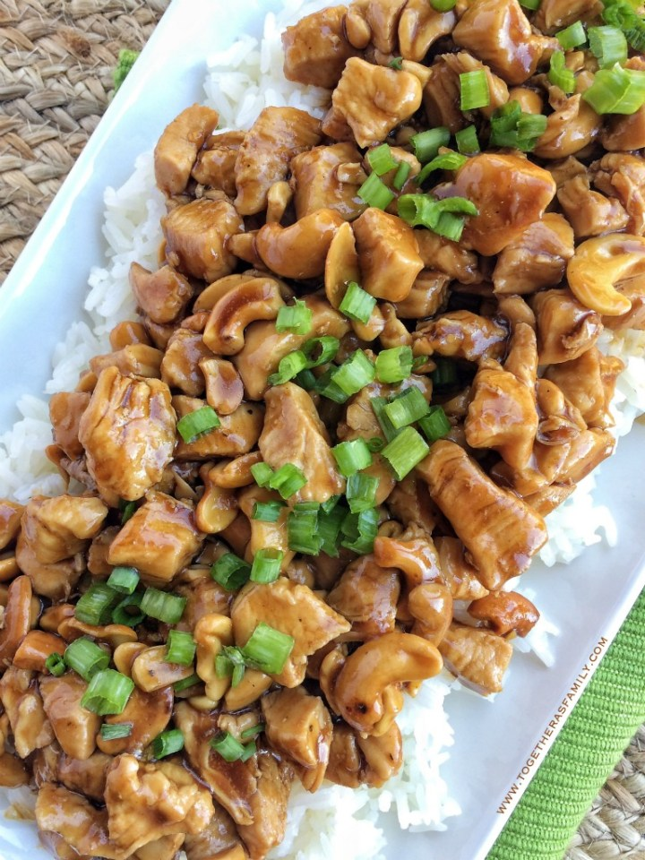 Easy Skillet Cashew Chicken