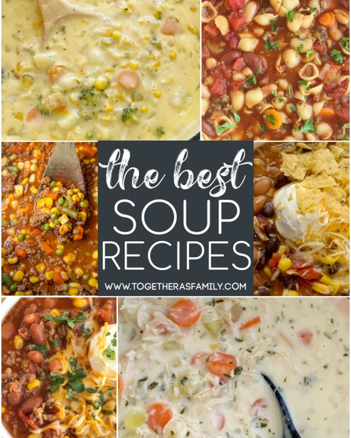 The Best Soup Recipes all in one place!